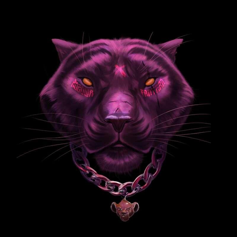 Szpaku Różowa Pantera okładka albumu